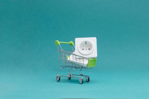 Koop elektrische goederen in de winkel