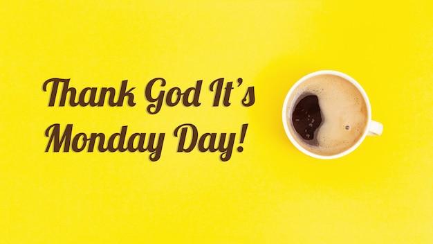 Kop en kopje koffie.