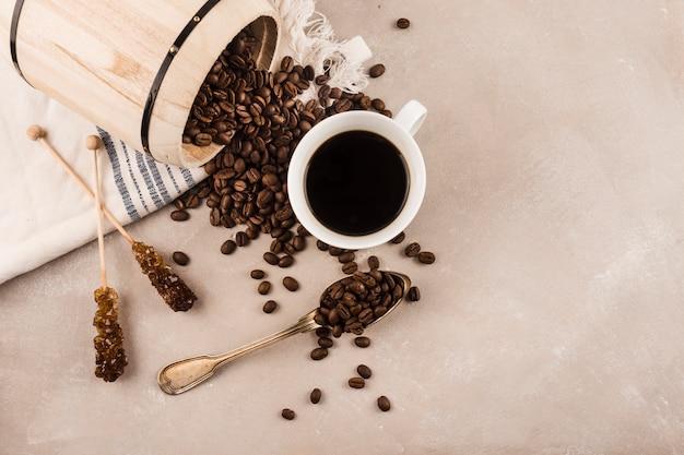 Kop heerlijke koffie