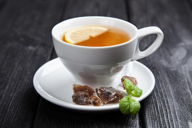 Kop thee op donker