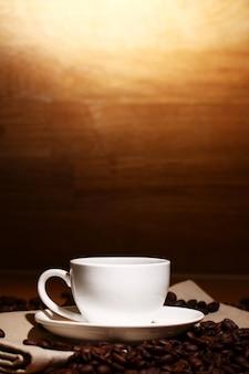 Kop warme koffie
