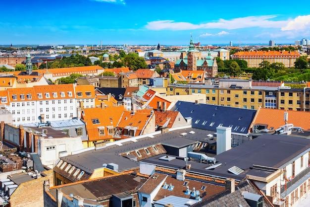 Kopenhagen, denemarken panorama