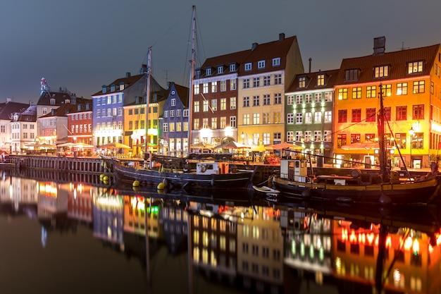 Kopenhagen nyhavn denemarken