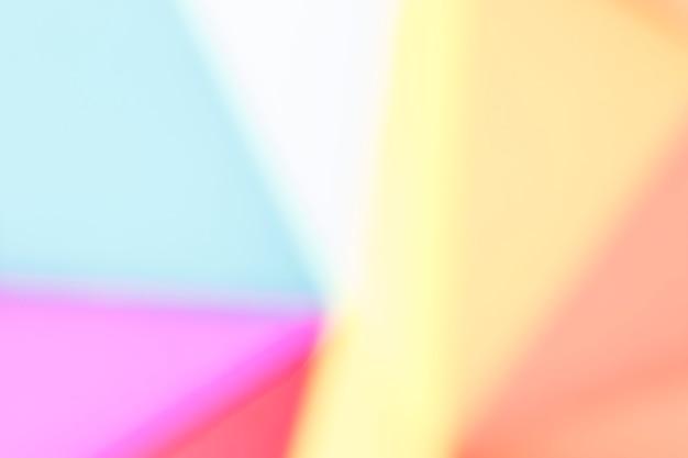 Kopieer de ruimte met regenboog achtergrond