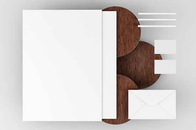 Kopieer ruimte briefpapier documenten verschillende formaten