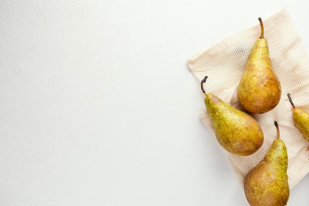 Kopieer ruimte peren op tafel