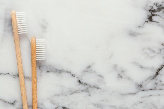 Kopieer ruimte tandenborstels