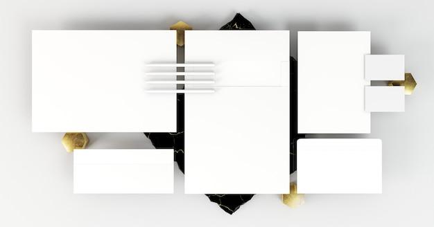Kopieer ruimte voor zakelijke briefpapier
