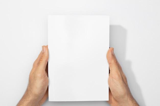 Kopieer ruimteboek met schaduwen