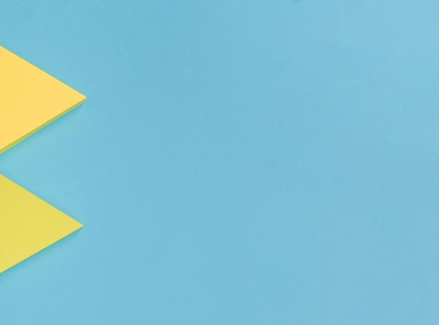 Kopieerruimte gele pijlen