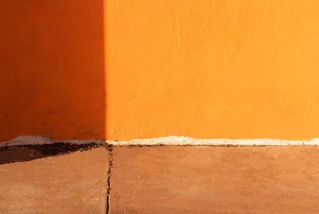Kopieerruimte op de vloer en de muur