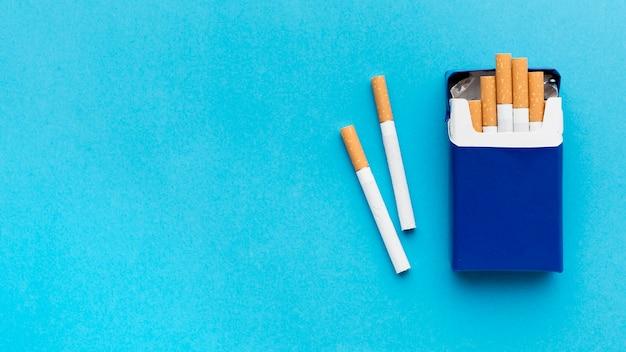 Kopieerruimte pakje sigaretten