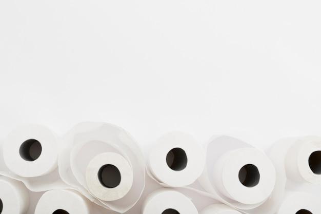 Kopieerruimte set wc-papierrollen