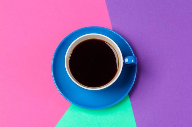 Kopje koffie en schotel