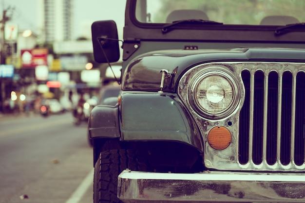 Koplamp lamp vintage auto