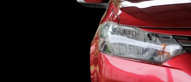 Koplamplamp van nieuwe carscopy geïsoleerd