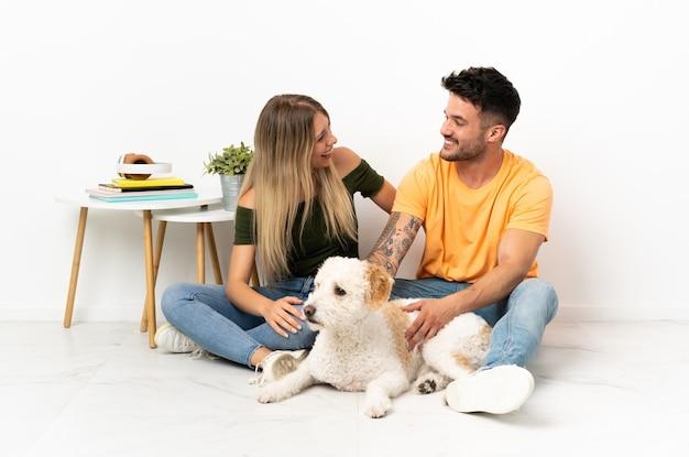 Koppel met hond