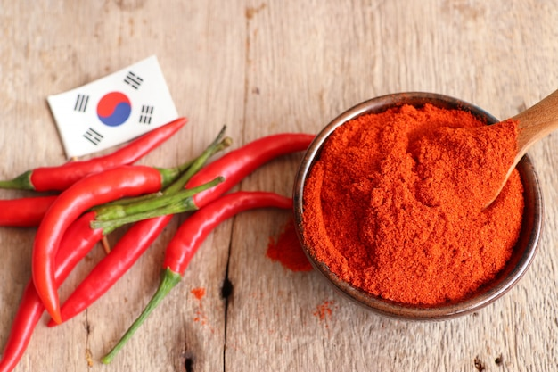 Koreaans rood chilipoeder