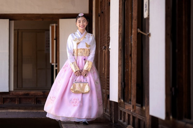 Koreaanse dame