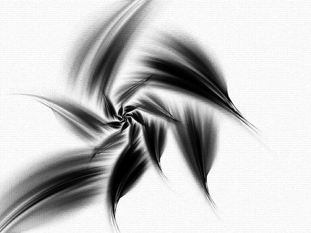Kort fractaal. fractal kunst achtergrond voor creatief ontwerp. decoratie voor behang desktop, poster, omslagboekje, kaart