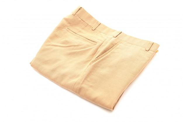 Korte broek op wit