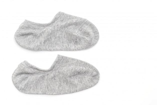 Korte sokken op wit