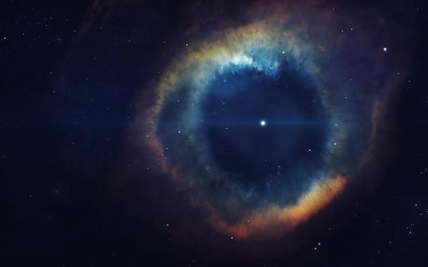 Kosmische kunst, sciencefictionbehang