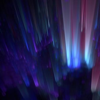 Kosmische lichten stromen naar beneden