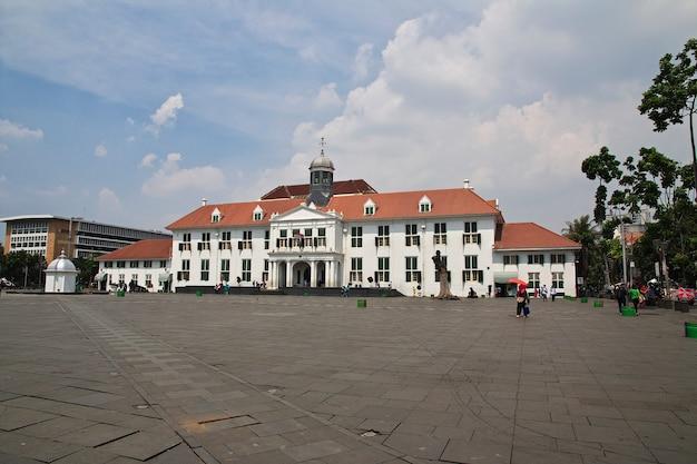 Kota tua jakarta in indonesië