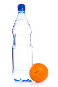 Koud water met fruit
