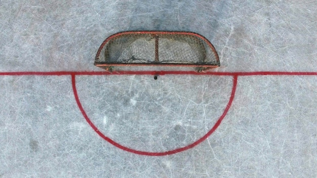 Koud winterhockey op straat houdt zijn kampioenschap hockeyliefhebbers en fans