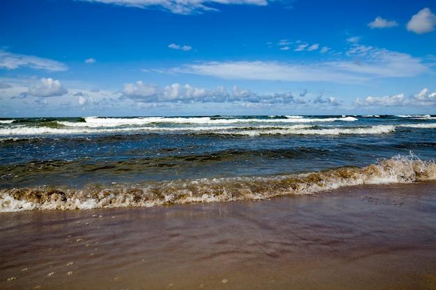 Koud zomerweer op de oostzee