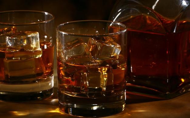 Koude whisky
