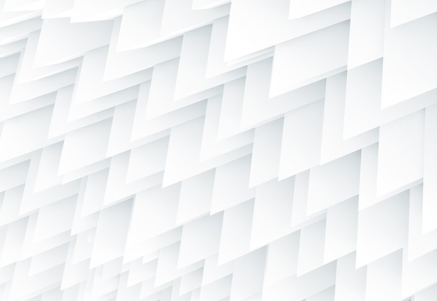 Koude witte scherpe geometrie abstracte achtergrond