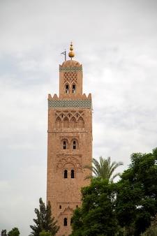 Koutubiamoskee in marrakech