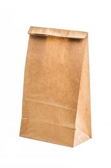 Kraft papieren zak