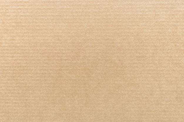 Kraftpapier of kartonnen textuur