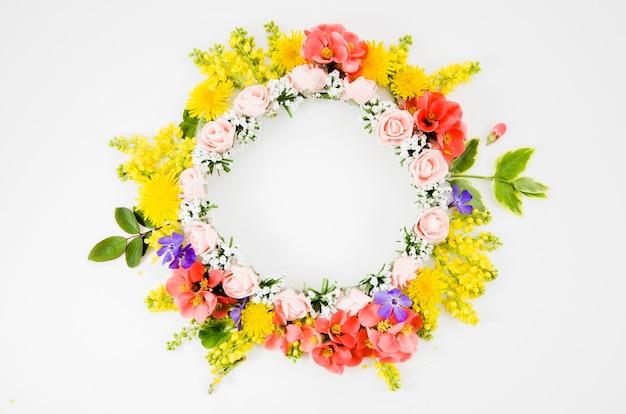 Krans van bloemen