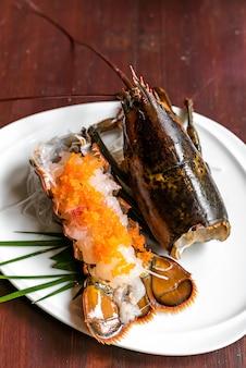 Kreeft sashimi