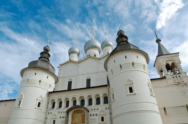 Kremlin van de oude stad rostov veliky.russia