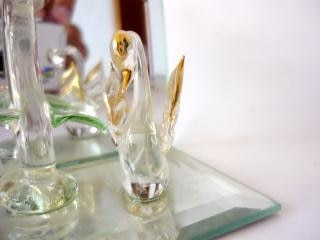 Kristal decoratie stuk, reflectie