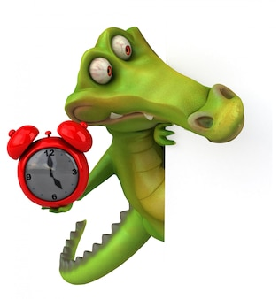 Krokodil animatie