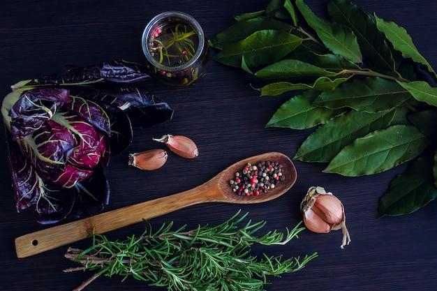 Kruiden en specerijen selectie