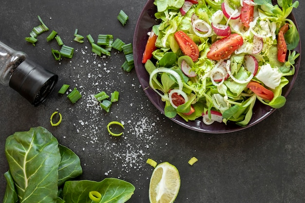 Kruiden voor salade