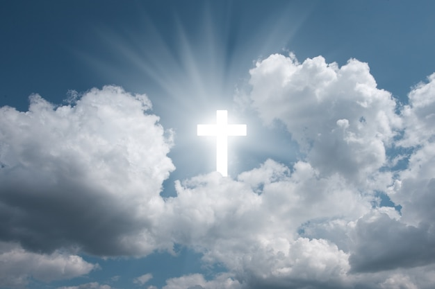 Kruis in de lucht
