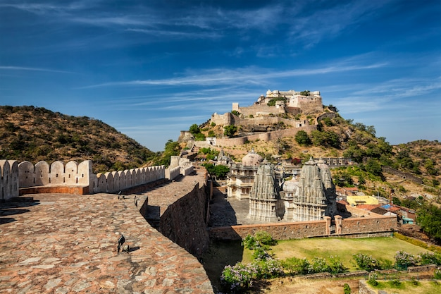 Kumbhalgarh fort, india