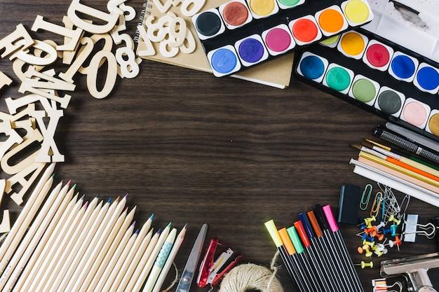 Kunst- en kantoorbenodigdheden