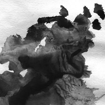 Kunst inkt natuur fog kwast cirkelvormig
