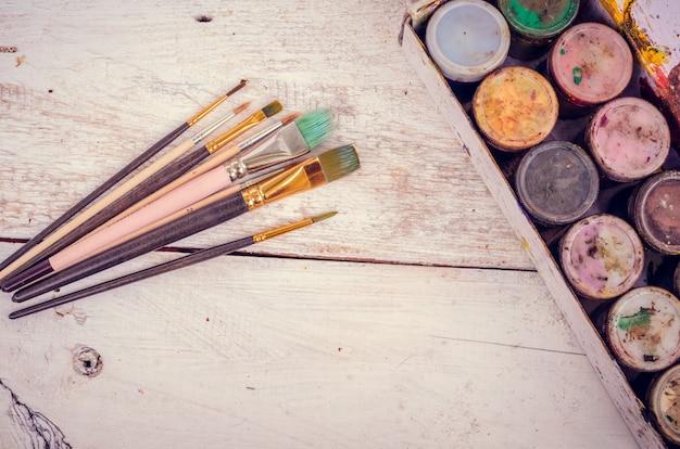 Kunstenaar penselen
