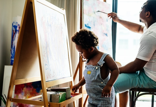 Kunstenaarsfamilie